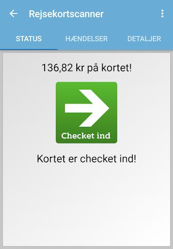 Rejsekortscanner  screenshots 2