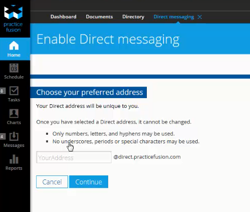 Get started direct messagingpng