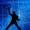 Vyomy Hologramme 3D Tron Danse