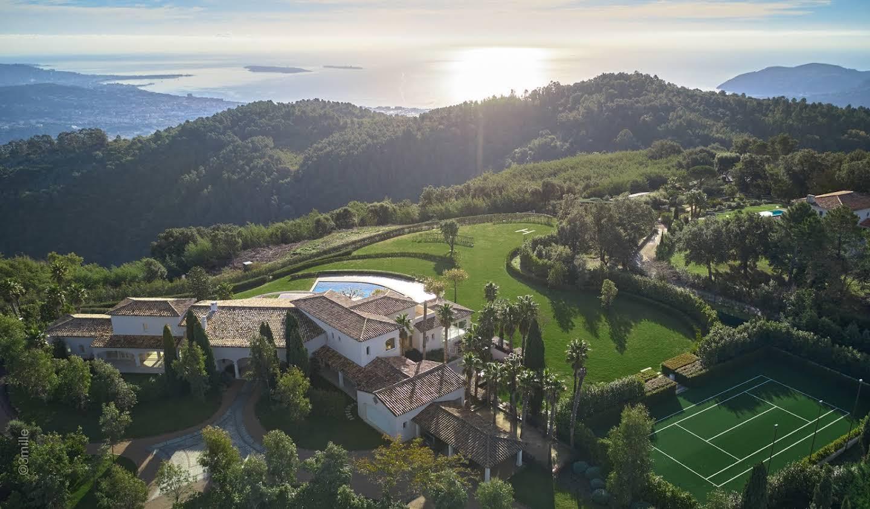 Villa avec piscine Tanneron