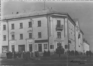Photo: Угол Автозаводской и Горького (сейчас здание Администрации Засвияжского района)