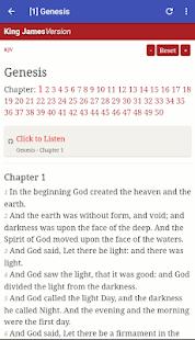 King james bible free kjv audio bible offline apps on google play screenshot image fandeluxe Image collections