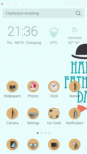 Father Day Theme