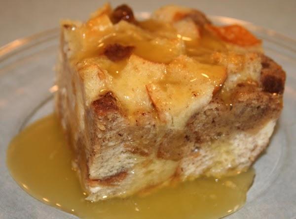 Custard Bread Pudding With Bourbon Sauce Recipe
