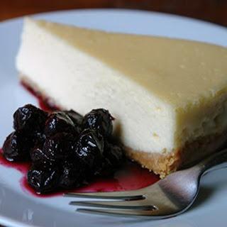 Gordon Ramsay's vanilla cheesecake.