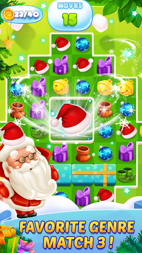 Christmas Match 3 - Puzzle Game 2019 screenshot 2
