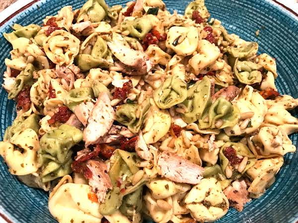 Grilled Chicken And Tortellini Salad Recipe