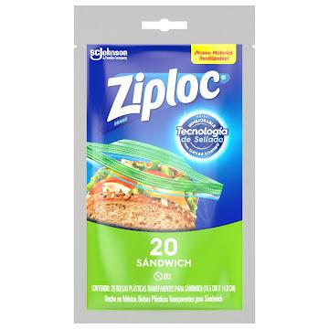Bolsas Ziploc Econopack   X 20Und