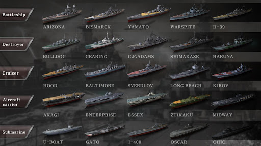 WARSHIP BATTLE:3D World War II apkdebit screenshots 4