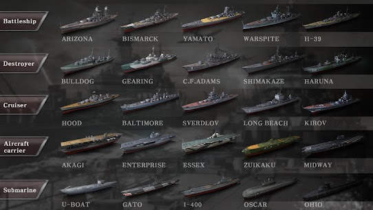 WARSHIP BATTLE:3D World War II MOD (Unlimited Money) 4