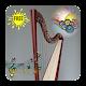 Playing real harp
