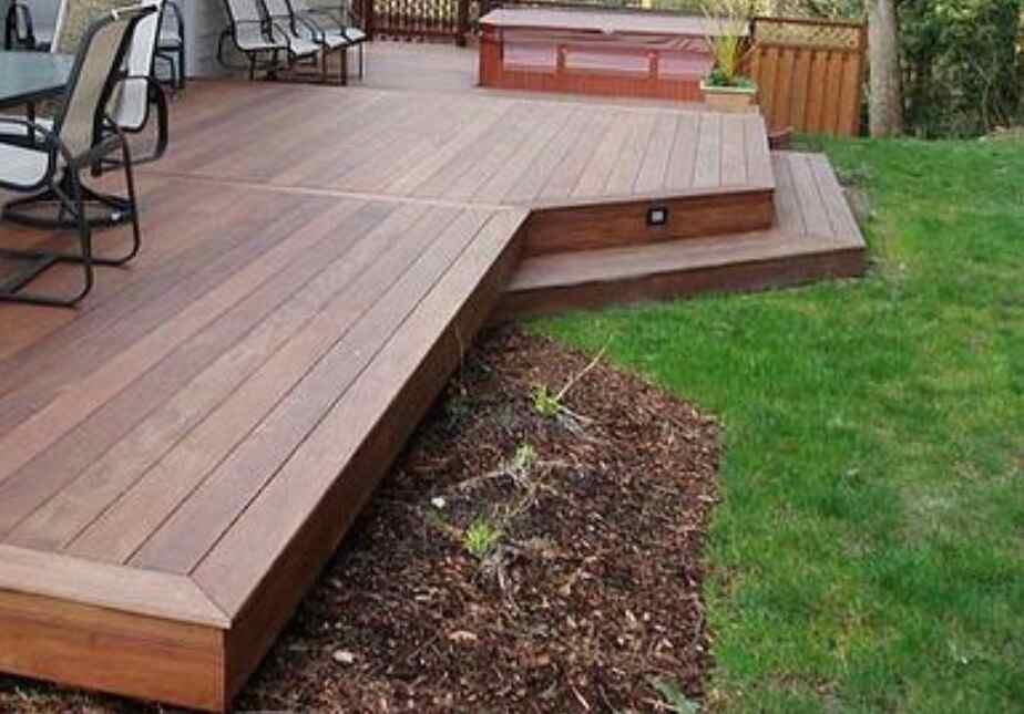best back garden decking solution in the uk