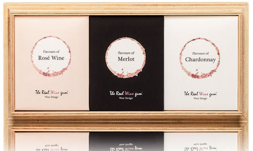 Presentförpackning med Rosé, Chardonnay och Merlot - Vinoos