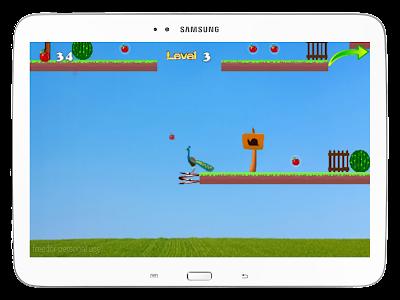 Peacock Jumping screenshot 22