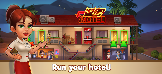 Doorman Story: Hotel team Tycoon Mod Apk (Unlimited Gold + Diamonds) 1