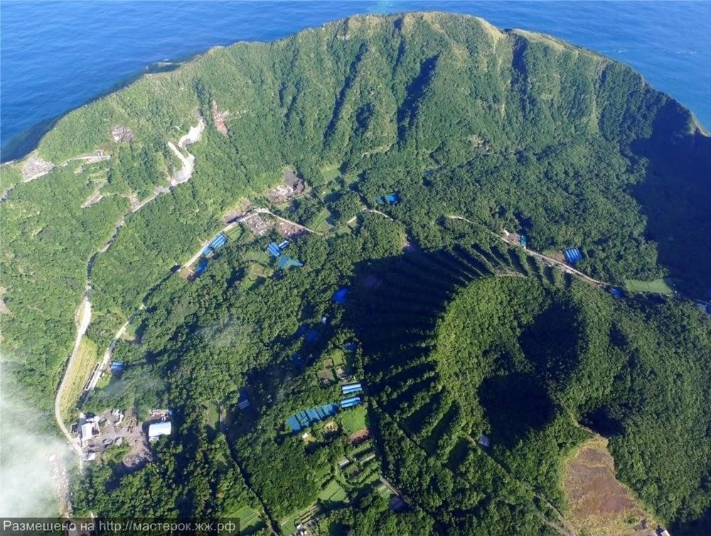 Aogashima, vulcão dentro de um vulcão