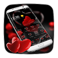 Red Love Heart Theme download
