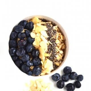 Blueberry Pie Oatmeal.