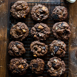 Slutty Brownie Cookies