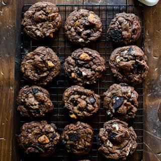 Slutty Brownie Cookies.