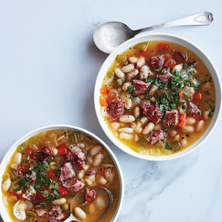 Slow-Cooker White Bean and Ham Hock Soup.