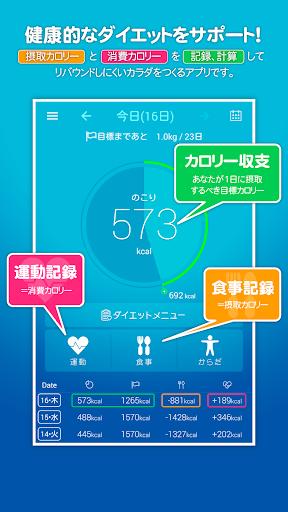 カロリー計算&ダイエット記録無料サポートアプリ:カロリサイズ