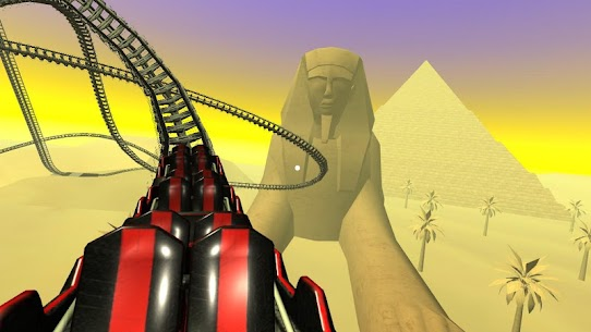 Egyptian Pyramids Virtual Reality Roller Coaster 1