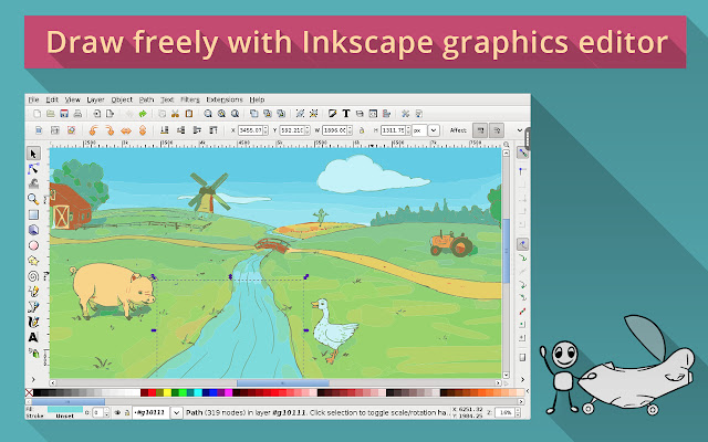 Inkscape on rollApp
