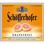 Schofferhofer Grapefruit Hefe