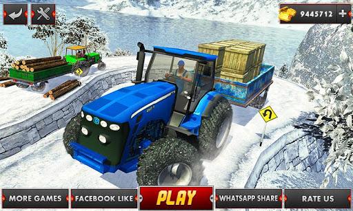 Farm Tractor Cargo Driving Simulator 20 1.5 screenshots 1