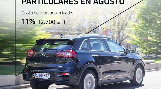 Kia Automóviles Robe celebra los excelentes resultados de agosto