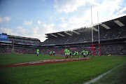 General view of the stadium prior The Castle Rugby Championship match between South Africa and New Zealand at Ellis Park on October 04, 2014 in Johannesburg, South Africa.