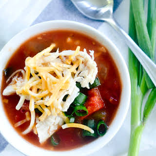 Weight Watchers Zero Point Tortilla Soup.
