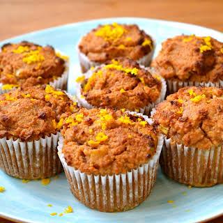 Rhubarb & Orange Muffins.