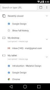 Chrome Beta apk download 4