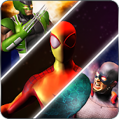 Super Heroes Street Fight Game: New Battle City