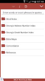 NKJV Word Study Bible - náhled