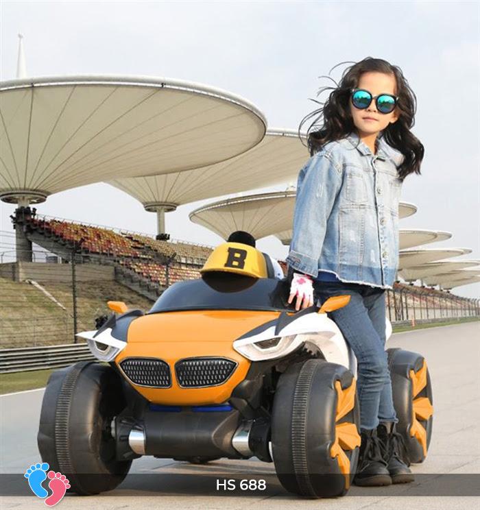 Xe ô tô điện địa hình cho bé hs-688 1