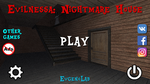 Evilnessa: Nightmare House  captures d'u00e9cran 1