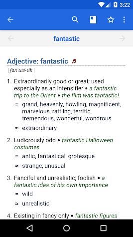 WordWeb Audio Dictionary Screenshot