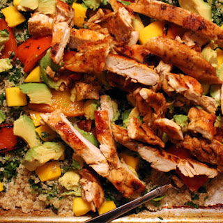 Chow On Blackened Chicken And Quinoa Salad