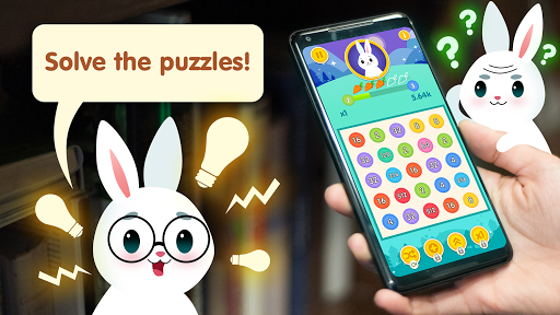 Bunny Connect: Match Colours, Numbers & Bubbles screenshot 2