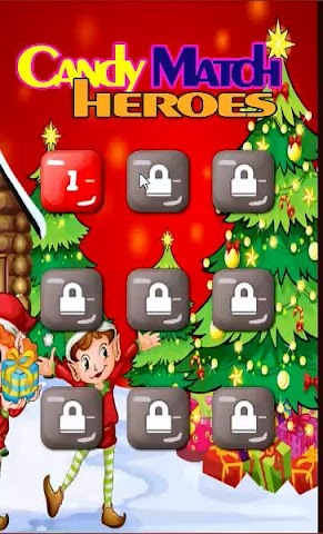 android Candy Match Hero: Xmas Session Screenshot 0