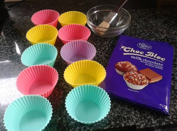 Start on the chocolate cups . I would actually suggest that if you are...