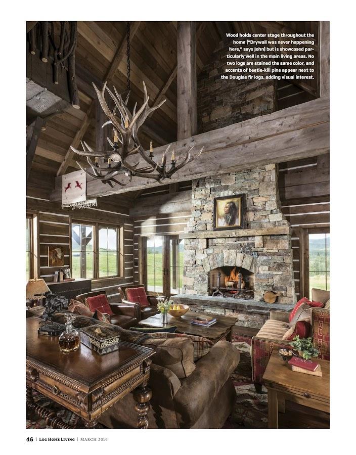 Log Home Living- screenshot