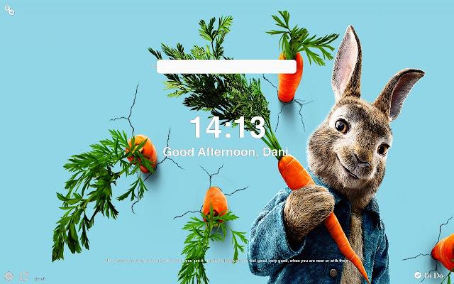 Peter Rabbit 2 HD Wallpapers New Tab