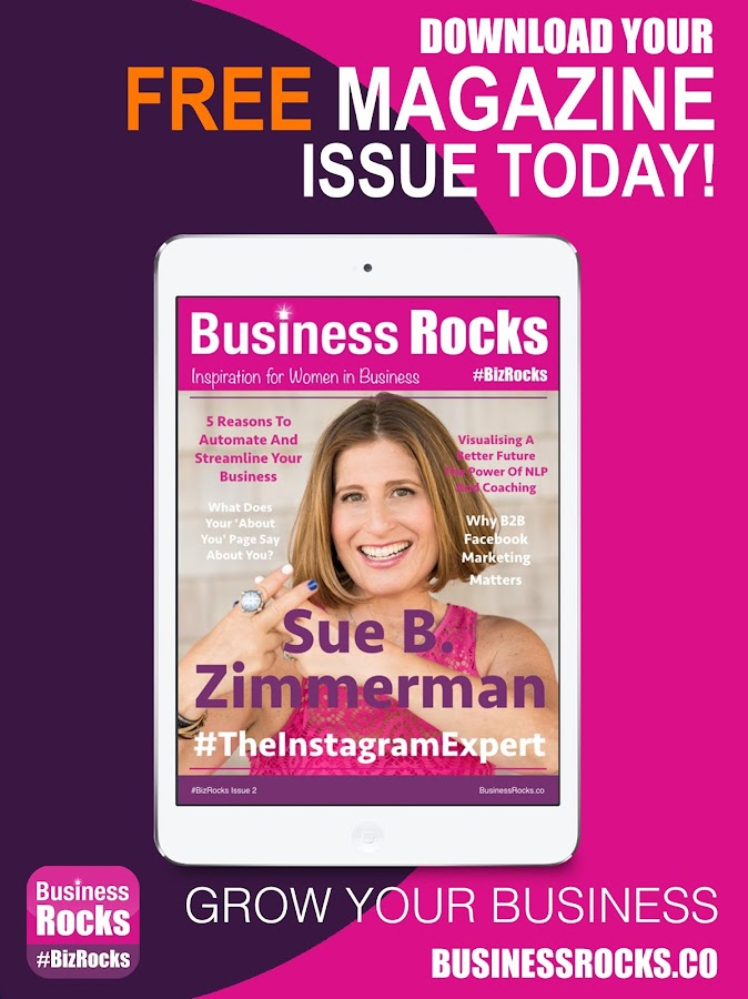 Business Rocks Womens Magazine- screenshot