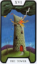 Photo: .XVI. The Tower - A Torre Tarot of the Witches - Fergus Hall