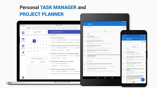 Chaos Control: GTD Organizer & Task List Manager Screenshot