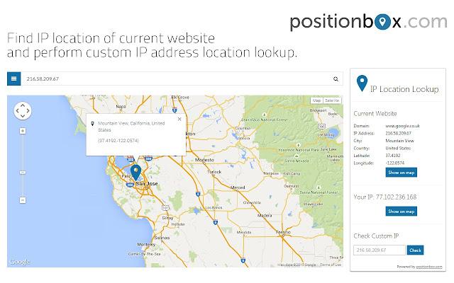 Ip Location Map IP Location Lookup Tool Ip Location Map